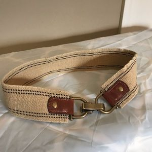 J. Crew Stretch Buckle Belt